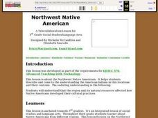 Northwest Native American Lesson Plan