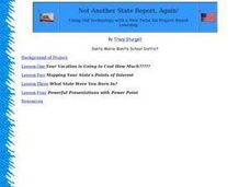 Not Another State Report, Again! Lesson Plan