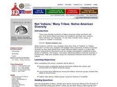 Not 'Indians,' Many Tribes: Native American Diversity Lesson Plan