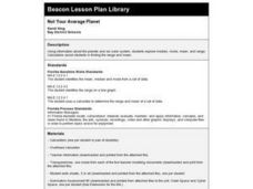 Not Your Average Planet Lesson Plan