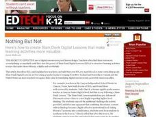 Nothing But Net: Virtual Lessons Lesson Plan