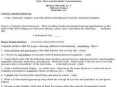 """NSN, Fractions/Decimals"" Investigations Lesson Plan"