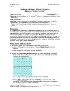 NUMB3RS Activity: Riding the Waves Lesson Plan