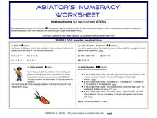 Number Manipulation Worksheet