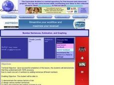 Number Sentences, Estimation, and Graphing Lesson Plan