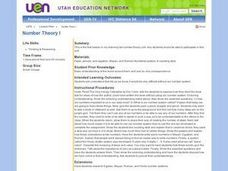 Number Theory I Lesson Plan