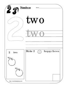 Numbers - 2 Worksheet