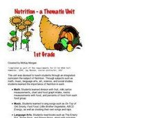 Nutrition: A Thematic Unit Lesson Plan