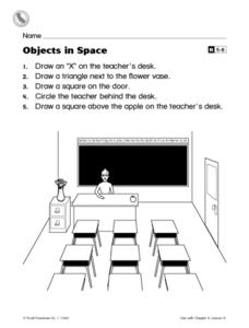 Objects in Space Worksheet