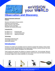 Observation and Discovery Lesson Plan