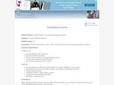 Ocean/Beach Center Lesson Plan