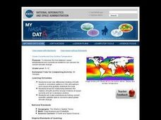 Ocean Currents and Sea Surface Temperature Lesson Plan