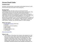 Ocean Food Links Lesson Plan