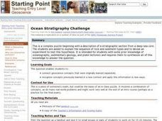 Ocean Stratigraphy Challenge Lesson Plan