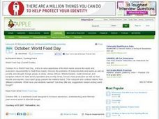 October: World Food Day Lesson Plan