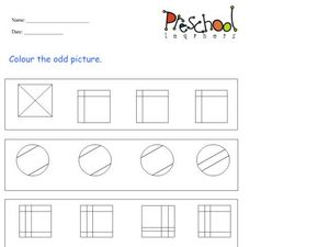 Odd Pictures Worksheet
