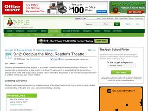 Oedipus the King Reader's Theatre Lesson Plan