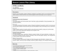 Of Mice and Moths Lesson Plan