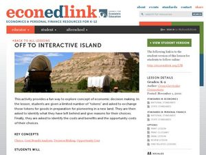 Off to Interactive Island: Preparing a Budget for a Trip Lesson Plan