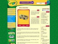 Off-to-School Bus Lesson Plan