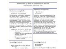 Oil Spills: The Scientific Method in Action Lesson Plan