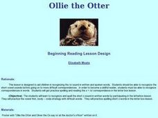 Ollie the Otter Lesson Plan