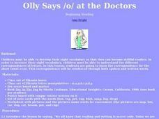 Olly at the Doctor Lesson Plan