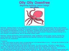 Olly Olly Oxenfree Lesson Plan