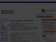 Olympic Gold Medalists Lesson Plan