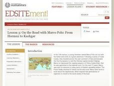 On the Road with Marco Polo: From Hormuz to Kashgar Lesson Plan