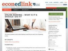 Online Banking: What Is It & Should I Do It? Lesson Plan
