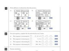Online Math Problems Worksheet