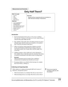 Only Half There? Lesson Plan