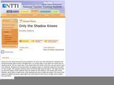 Only the Shadow Knows Lesson Plan