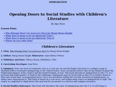 Opening Doors to Social Studies with Children's Literature Lesson Plan