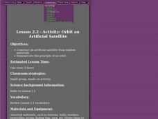 Orbit an Artificial Satellite Lesson Plan