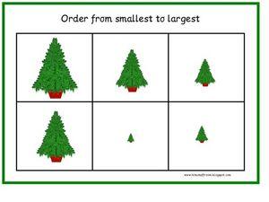 Order From Smallest to Largest Kindergarten - 1st Grade ...