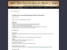 Oregon Cities Lesson Plan