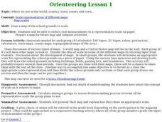 Orienteering - Lesson 1 - Maps & Map Scales Lesson Plan