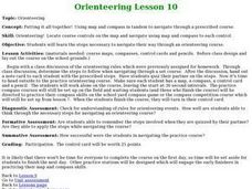 Orienteering - Lesson 10 - Putting It All Together Lesson Plan