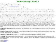 Orienteering - Lesson 2 - Topographical Maps Lesson Plan