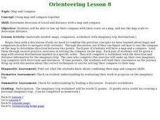 Orienteering - Lesson 8 - Map and Compass Lesson Plan