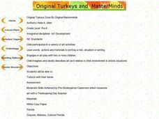 Original Turkeys Done By Original Masterminds Lesson Plan