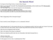 Our Dynamic Planet Lesson Plan