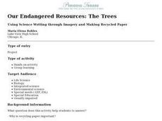 Our Endangered Resources: The Trees Lesson Plan