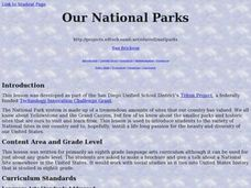 Our National Parks Lesson Plan