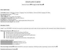 Our Planet Earth Lesson Plan