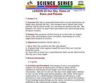 Our Sky: Home of Stars and Planets Lesson Plan