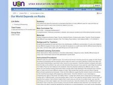 Our World Depends on Rocks Lesson Plan