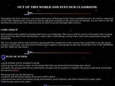 Out of This World and Into Our Classroom Lesson Plan